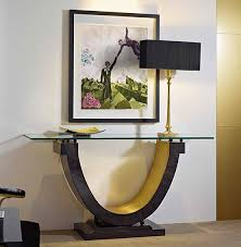 consolas muebles consola moderna odeon material madera de ebano existe la