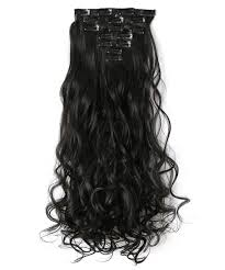 barrel curl hair pieces amazon com onedor 20 curly full head clip in synthetic hair