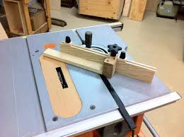 ridgid table saw miter gauge simple table saw miter gauge stop jig by woodshaver tony c