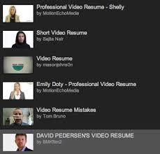 Video Resume Creator 31 best video resume cover letter images on pinterest resume