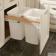 Cabinet Trash Can Tilt Trash Can City Trash Can Wood Tilt Out - Kitchen cabinet garbage drawer