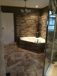 Zen Bathroom Ideas by Surrounded My Garden Tub With Airstone Turned Out Great To