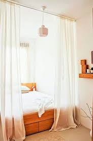 Cot Bed Canopy Style Cozy Single Bed With Drapes Image Of Canopy Bed Canopy Bed