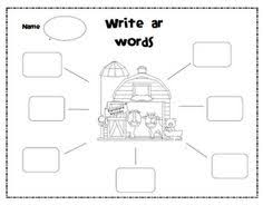 phonics fun ar and or words worksheets and phonics