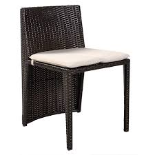 Glass Table Patio Set Goplus 3 Pcs Cushioned Outdoor Wicker Patio Set Seat