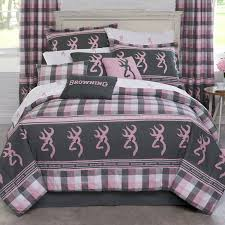 the complete browning buckmark plaid bedding collection rustic