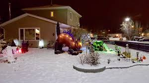 Pictures Of Houses Decorated For Halloween by In Pictures Yellowknife U0027s Halloween Houses Of Horrors
