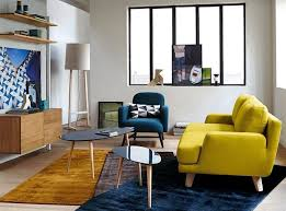 décoration canapé 20 salons avec un canapé jaune joli place