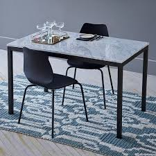 box frame dining table marble west elm