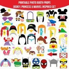 printable hippie photo booth props disney photo booth props mickey mouse disney princess pooh
