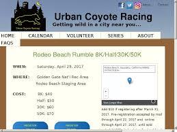 rodeo beach rumble 8k half 30k 50k rodeo beach golden gate