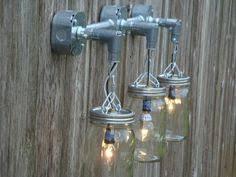 Shabby Chic Light Fixture by Mason Jar Hanging Light Barnwood Mason Jar Light Fixture Rustic