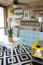 Blue And Black Living Room Decorating Ideas Best 25 Yellow Office Ideas On Pinterest Yellow Home Offices