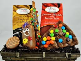 Thinking Of You Gift Baskets Thinking Of You Cheerful Gourmet Chocolate Gift Basket