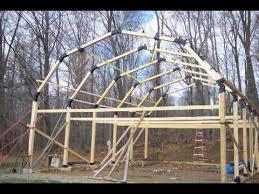 build a garage workshop pole barn house youtube