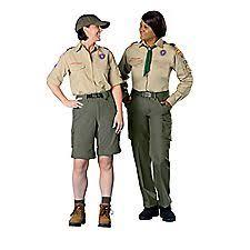 boy scout uniform womens
