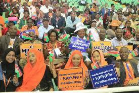 Seeking Nairobi Desperate Uhuru Crisscrosses Nairobi Seeking Endorsement From
