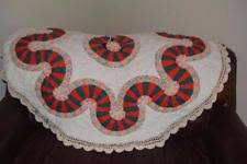 quilted tree skirt ebay