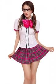 school girl costume womens butterfly school girl costume white pink