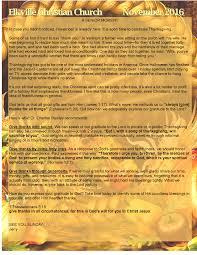 spiritual baptist thanksgiving service newsletter elkville christian church
