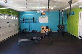 fully committed garage gym all the essentials bars rack