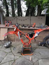 2015 5 ktm 250 sxf broken transmision need help finding gears