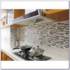 self adhesive vinyl tile backsplash tiles home design ideas