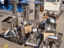 prezzi canne fumarie in acciaio per camini tubi inox materiali edili in cania kijiji annunci di ebay