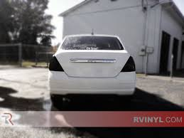 nissan versa fog lights rtint nissan versa sedan 2007 2011 tail light tint film
