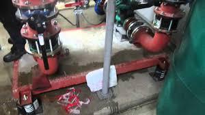 york chiller circuit pump headers chiller headers flushing