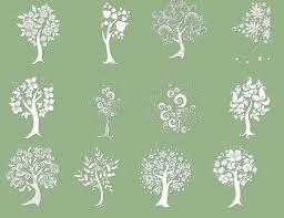decorative trees brushes fbrushes