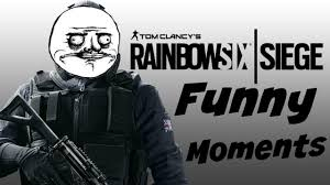 rainbow 6 siege funny montage 1 youtube pinterest