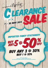 urbanwrite clearance sale on imported fancy stationery any 5 50