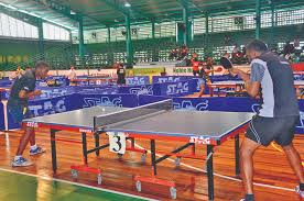 franklin table tennis table britton franklin overcome duffs challenge guyana times
