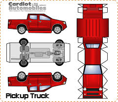 cardboard truck template images reverse search