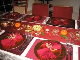 furniture fabulous thanksgiving table setting with pumpkins on