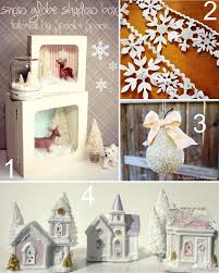 25 winter wonderland craft projects the scrap shoppe