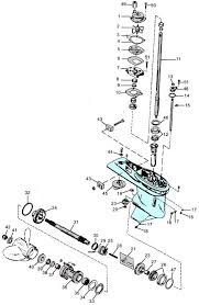 mercury outboard parts drawing 60 125 hp