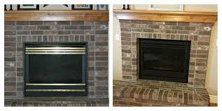 update your outdated fireplace itu0027s so easy to do with only 20