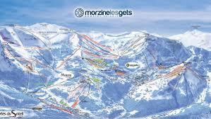 Alps On A Map Maps U0026 Piste Maps Of Morzine Morznet Com