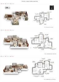 Bishopsgate Residences Floor Plan by Bramhacorp F Residences Pune