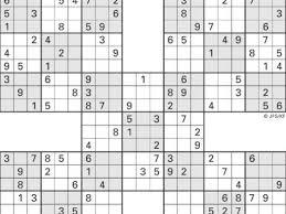 printable sudoku high five