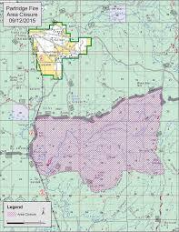 Idaho Fires Map Idaho Fire Information Partridge Fire Necessitates Area Closure