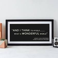personalised quote gifts personalised quotation print by betsy benn notonthehighstreet com