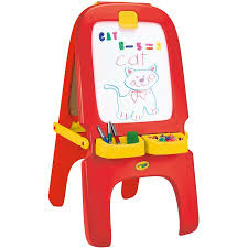 magnetic easel for toddlers crayola 3 in 1 magnetic dry erase and chalkboard work easel