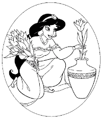 disney cartoon characters coloring pages 10