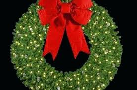 lighted wreaths for outdoors lighted wreath outdoor sumoglove