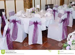 wedding table covers chair and table cover at wedding stock photo image 51188332