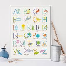 Kawaii Home Decor by Online Get Cheap Alphabet Wall Chart Aliexpress Com Alibaba Group