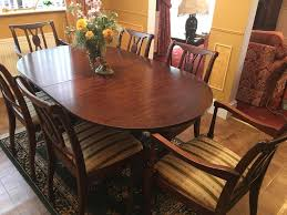 Dining Room Table 6 Chairs by Mahogany Dining Table Dramatic 1930s Mahogany Dining Table By